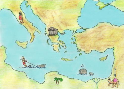 Välimeren kartta