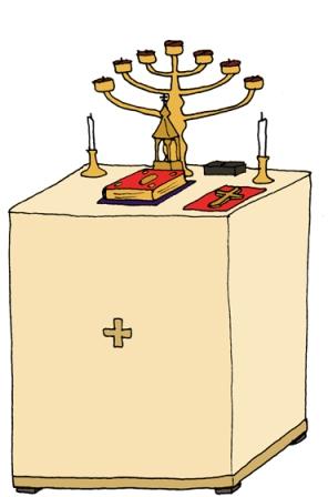 pyhäpöytä