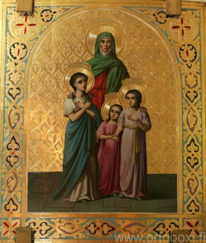 Pyhat Sofia ja tyttaret