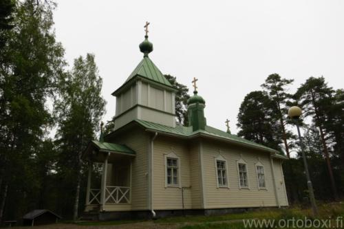 Sotkuman tsasouna Polvijärvi