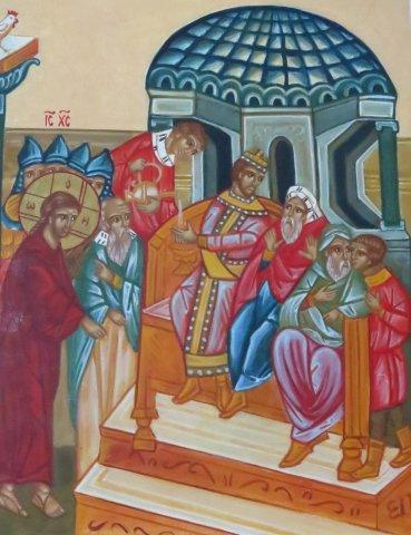 kristus kaifaan edess