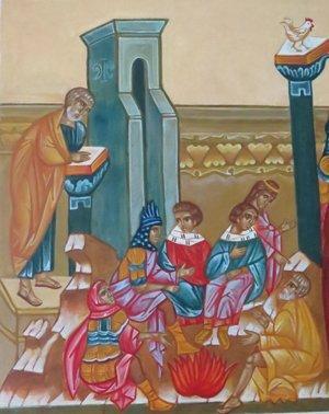 pietari kielt kristuksen