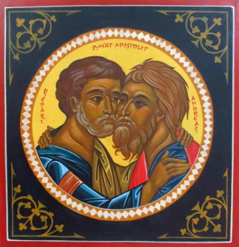 Apostolit Pietari ja Andreas